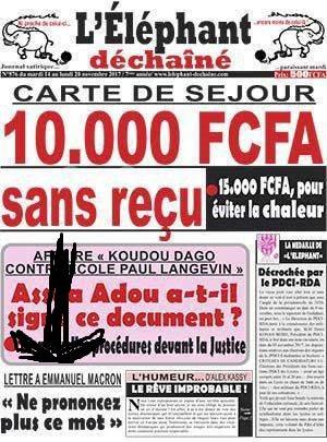 Lettre ouverte au président de la République française, afférente à la politique française vis-à-vis de l'Afrique subsaharienne