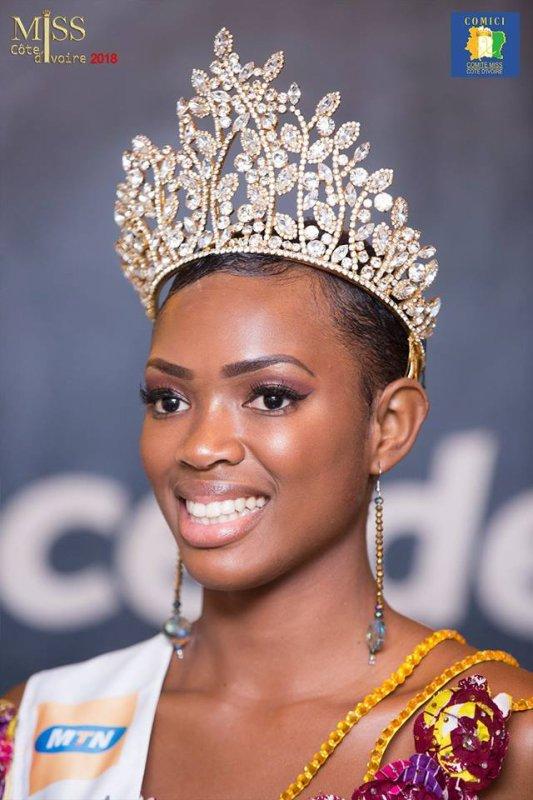 Félicitations à SUY FATEM miss CÔTE D'IVOIRE 2018