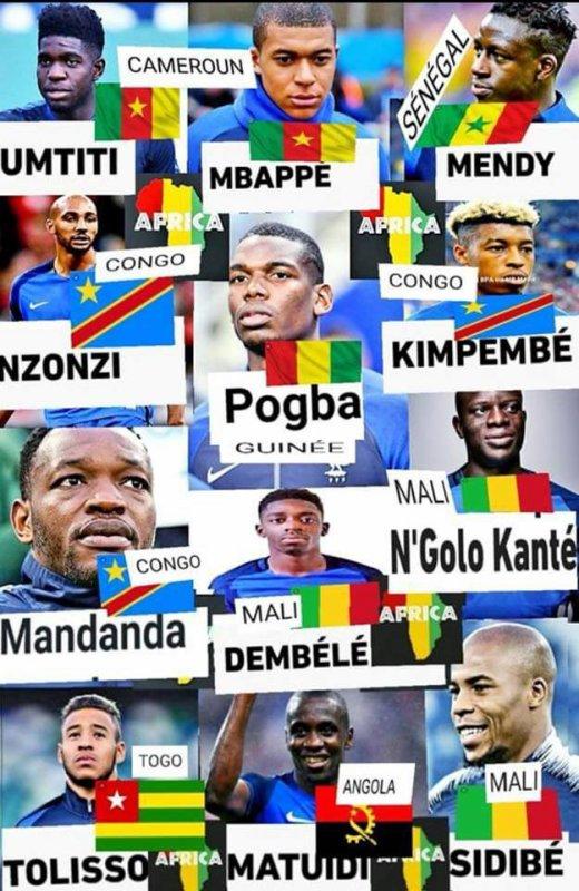 la  france  a  gagné    l  '  afrique  aussi  !!!!
