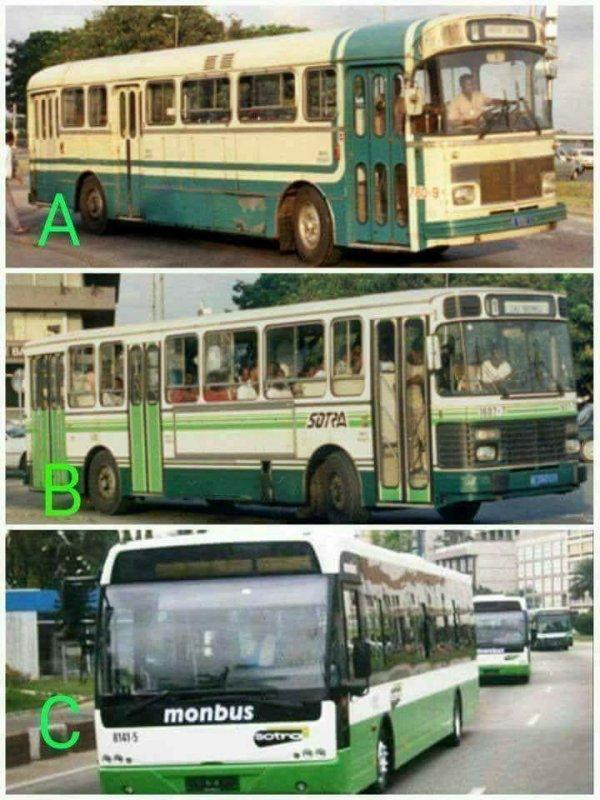 evolution  des  bus  SOTRA  avec  le  temps
