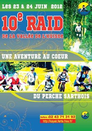 10ème RAID de La Vallée de l'Huisne 2012