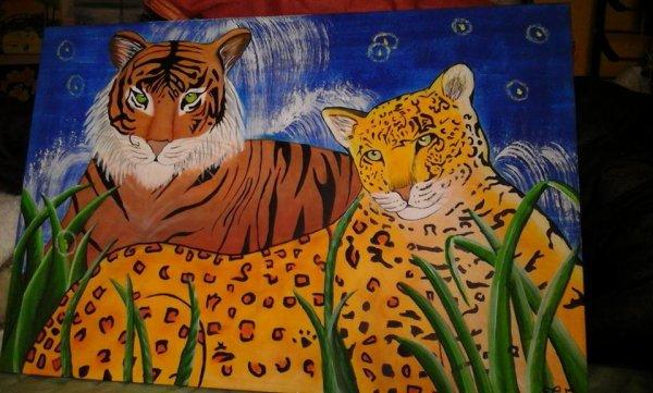 Tigre & Guépard