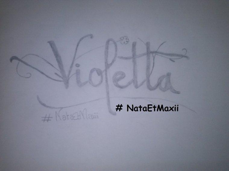 Mon dessin du logo violetta blog de nataetmaxii - Dessins violetta ...