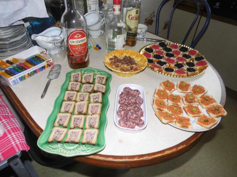 Voila le repas de dimanche entre amis blog de 49 cibeline for Repas soiree entre amis