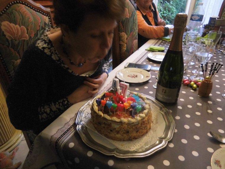 repas de l anniversaire de notre fille olivia