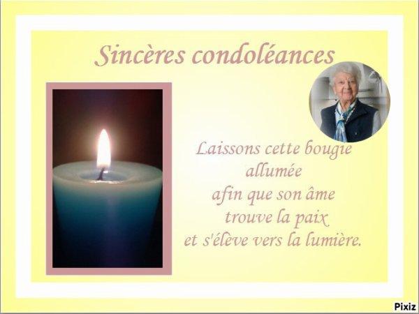 hommage de mon amie orchideerose pour le deces de belle maman