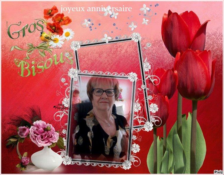 joyeux anniversaire mon amie maminette57.