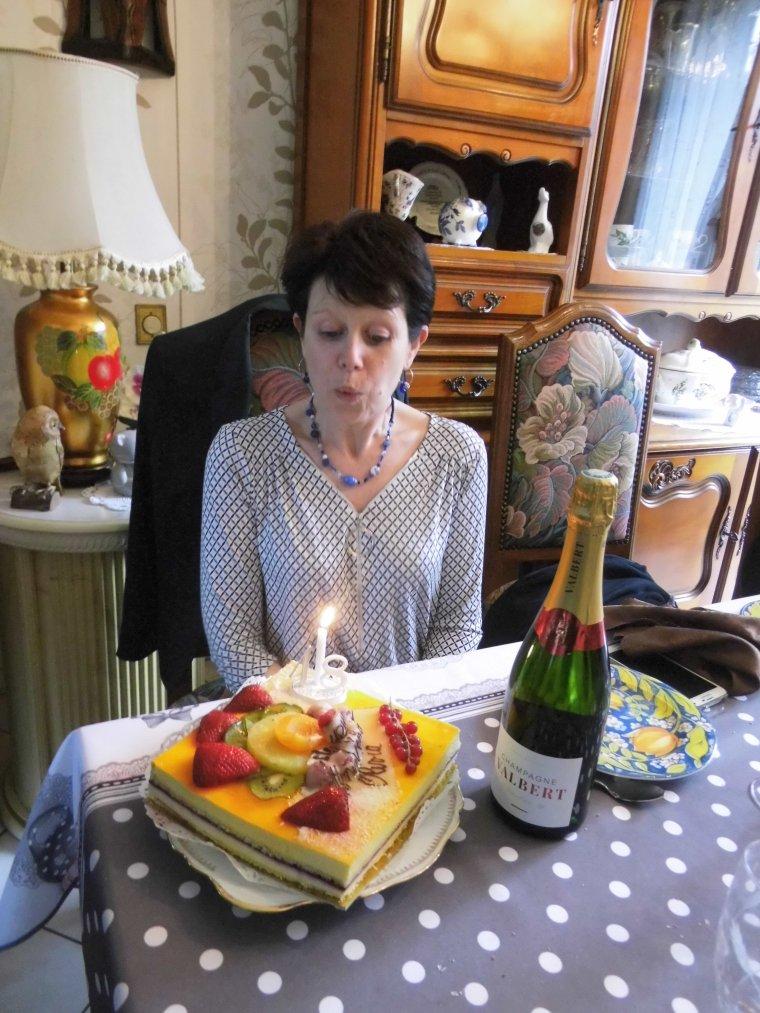repas pour l anniversaire de notre fille olivia