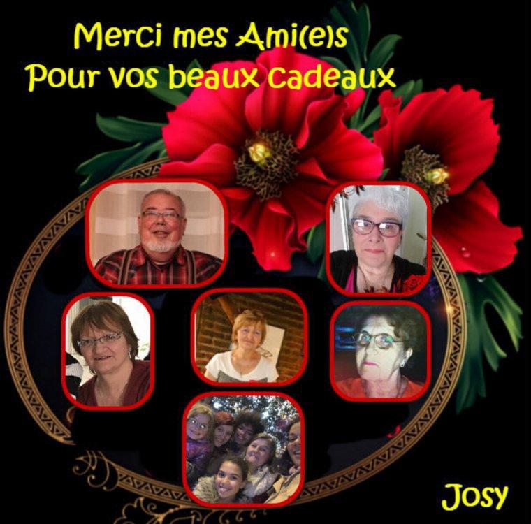 REMERCIEMENT DE MON AMIE JOSY41