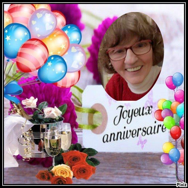 joyeux anniversaire a mon amie fleurette59