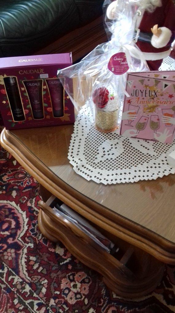 cadeau de ma fille olivia et de mon petit mari