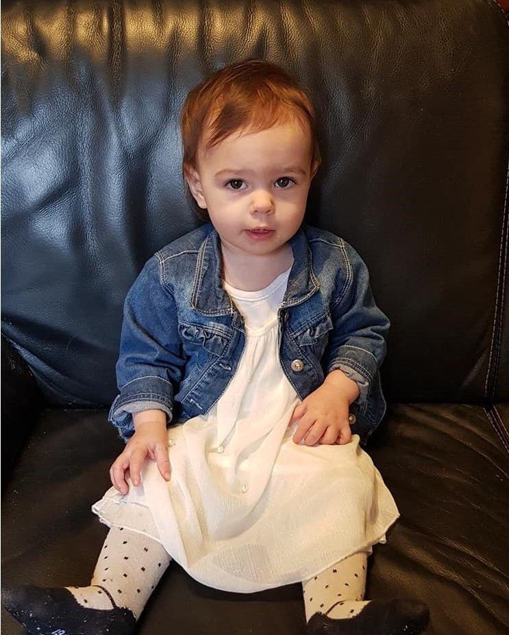 voila ma princesse angelina 14 mois