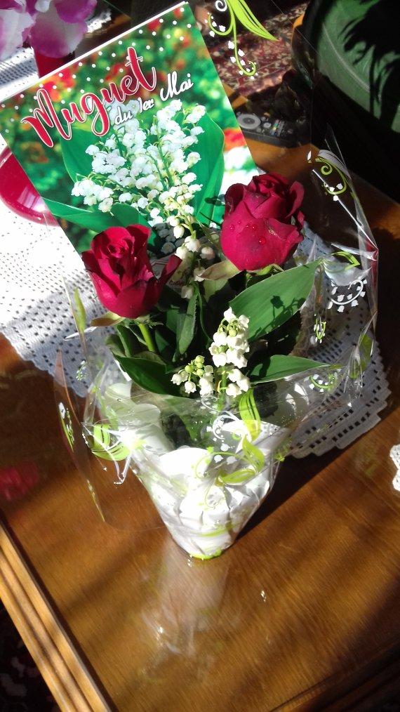 cadeau de mon petit mari <idefix43> pour le 1er mai
