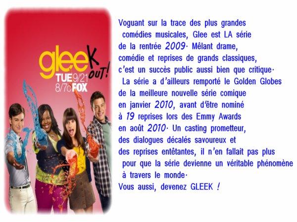 Glee, une série TV, un phénomène