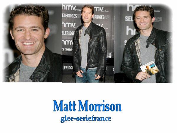 Promo anglaise pour Matt Morrison !