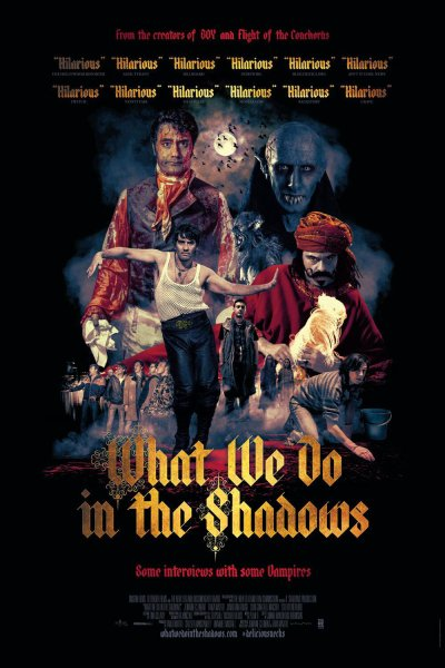 WHAT WE DO IN THE SHADOWS (2014) de Jemaine Clement et Taika Waititi