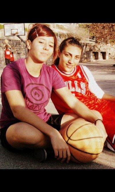 basket avec ma #1 ;)