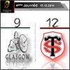 Victoire du Stade Toulousain à Glasgow