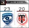 TOP 14 - 13 eme journée  - resultat