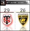 Top 14 - 16eme journee - Victoire du Stade Toulousain