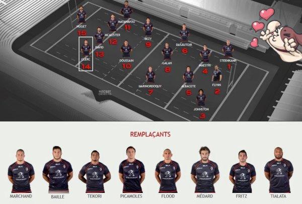 Top 14 - Stade Toulousain / Bordeaux