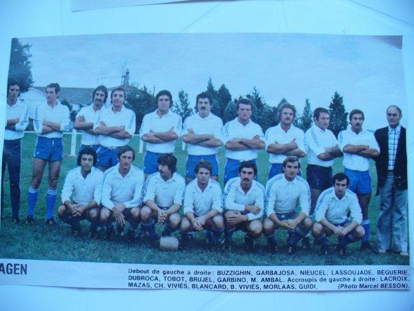 retro : équipes du championnat de france 76-77