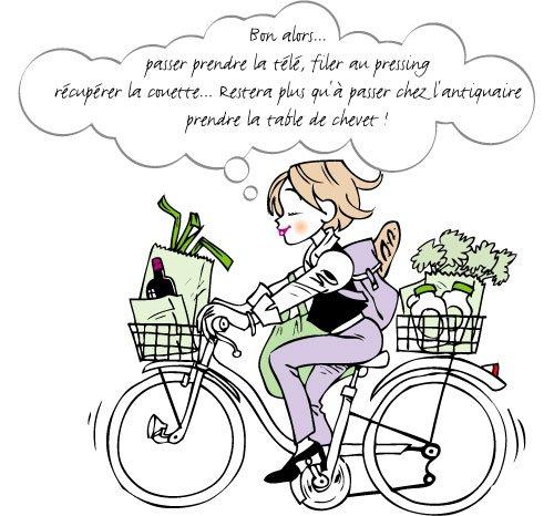 """""""Sylvie, sa bicyclette, et tous les autres..."""" mon roman pour votre été !"""