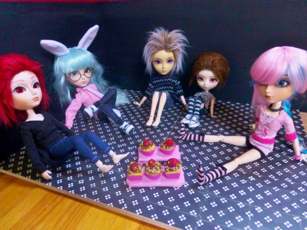 Séance photo 12 : Anniversaire de Shiro & Hayato + cadeau d'anniversaire décoré :p
