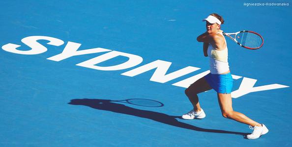 » Tournoi Premier de Sydney. La confirmation d'un succès pour Agnieszka ?