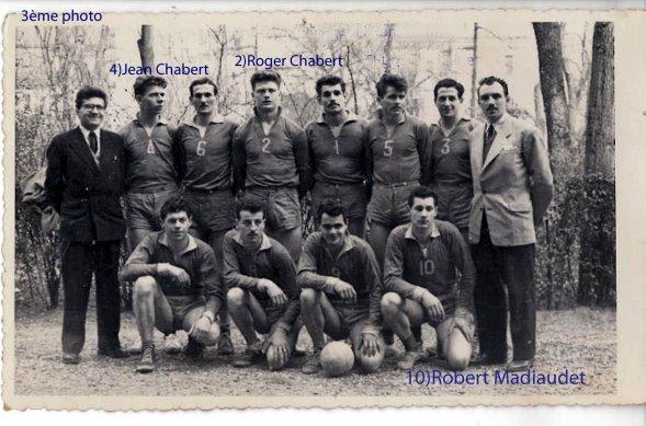 Le volley des années cinquante en métropole