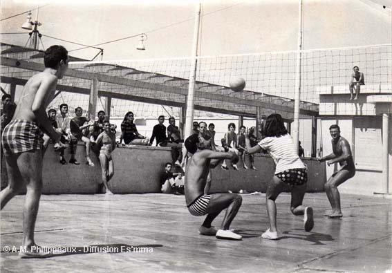 Le volley par Anne-Marie Philippeaux
