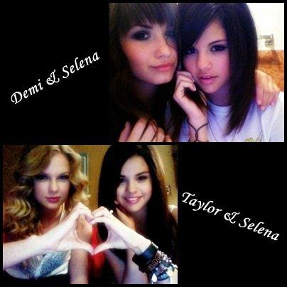 """Tu es plutot pour l'amtiée qui liée Demi & Selena ou la nouvelle qui unie Taylor & Selena ?! Taylor Swift est aujourdd'hui """" La nouvelle Best friend de Selena """" mais on ne la sent pas aussi proche de Tay qu'elle l'était avec Demi ... Difficile d'efface 9 ans d'amitiée !"""