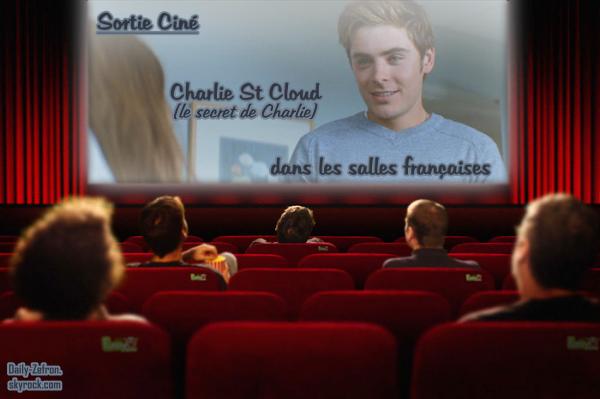 → Zac EFRON // Cinema . • ˙ • . • ˙ • . • ˙ • . • ˙ • . • ˙ • . • ˙ • . • ˙ • . • ˙ • . •˙ • .  DAILY-ZEFRON ★.•°•.•Sortie Ciné•.•°•.★  « le Secret de Charlie » - . • ˙ • . • ˙ • . • ˙ • . • ˙ • . • ˙ • . • ˙ • . • ˙ • . • ˙ • . •˙ • .  « 10.11.2010 »