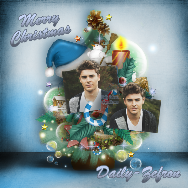 → Zac Efron // Blog . • ˙ • . • ˙ • . • ˙ • . • ˙ • . • ˙ • . • ˙ • . • ˙ • . • ˙ • . •˙ • .  DAILY-ZEFRON ★.•°•.•Habillage Noël•.•°•.★  « Daily-Zefron » - . • ˙ • . • ˙ • . • ˙ • . • ˙ • . • ˙ • . • ˙ • . • ˙ • . • ˙ • . •˙ • .  « 02.12.2010 »