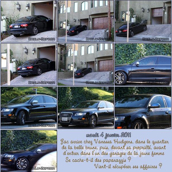 → Zac EFRON // Candids . • ˙ • . • ˙ • . • ˙ • . • ˙ • . • ˙ • . • ˙ • . • ˙ • . • ˙ • . •˙ • .  DAILY-ZEFRON ★.•°•.•Zac de sortie chez Vanessa•.•°•.★  « Los Angeles » - . • ˙ • . • ˙ • . • ˙ • . • ˙ • . • ˙ • . • ˙ • . • ˙ • . • ˙ • . •˙ • .  « 04.01.2011 »