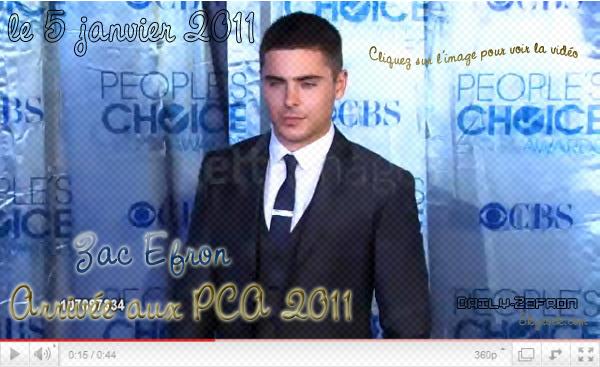 → Zac EFRON // Evènements . • ˙ • . • ˙ • . • ˙ • . • ˙ • . • ˙ • . • ˙ • . • ˙ • . • ˙ • . •˙ • .  DAILY-ZEFRON ★.•°•.•People Choice Awards•.•°•.★  « Vidéos » - . • ˙ • . • ˙ • . • ˙ • . • ˙ • . • ˙ • . • ˙ • . • ˙ • . • ˙ • . •˙ • .  « 05.01.2011 »