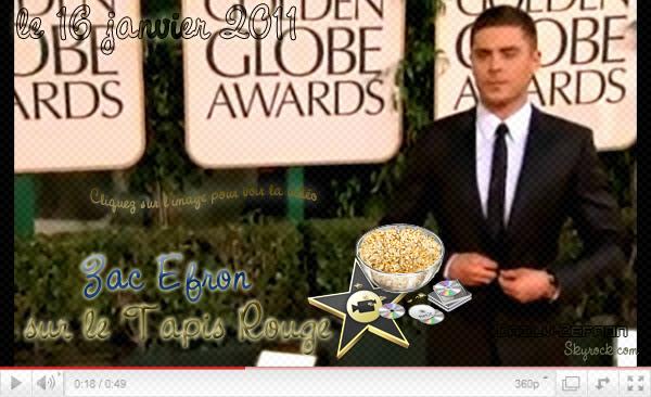 → Zac EFRON // Evénements . • ˙ • . • ˙ • . • ˙ • . • ˙ • . • ˙ • . • ˙ • . • ˙ • . • ˙ • . •˙ • .  DAILY-ZEFRON ★.•°•.•Tapis Rouge•.•°•.★  « Golden Globes » - . • ˙ • . • ˙ • . • ˙ • . • ˙ • . • ˙ • . • ˙ • . • ˙ • . • ˙ • . •˙ • .  « 16.01.2011 »