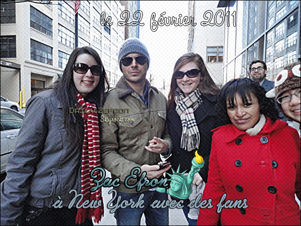 → Zac EFRON // Candids . • ˙ • . • ˙ • . • ˙ • . • ˙ • . • ˙ • . • ˙ • . • ˙ • . • ˙ • . •˙ • .  DAILY-ZEFRON ★.•°•.•Zac en mode New York•.•°•.★  « tournage et hôtel » - . • ˙ • . • ˙ • . • ˙ • . • ˙ • . • ˙ • . • ˙ • . • ˙ • . • ˙ • . •˙ • .  « 22.02.2011 »