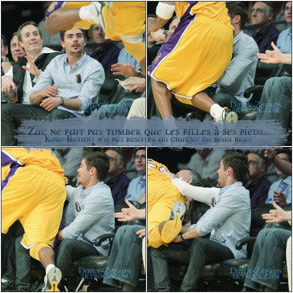 → Zac EFRON // Candids . • ˙ • . • ˙ • . • ˙ • . • ˙ • . • ˙ • . • ˙ • . • ˙ • . • ˙ • . •˙ • .  DAILY-ZEFRON ★.•°•.•Zac & le basket•.•°•.★  « rencontre avec les L.A Lakers» - . • ˙ • . • ˙ • . • ˙ • . • ˙ • . • ˙ • . • ˙ • . • ˙ • . • ˙ • . •˙ • .  « 31.03.2011 »