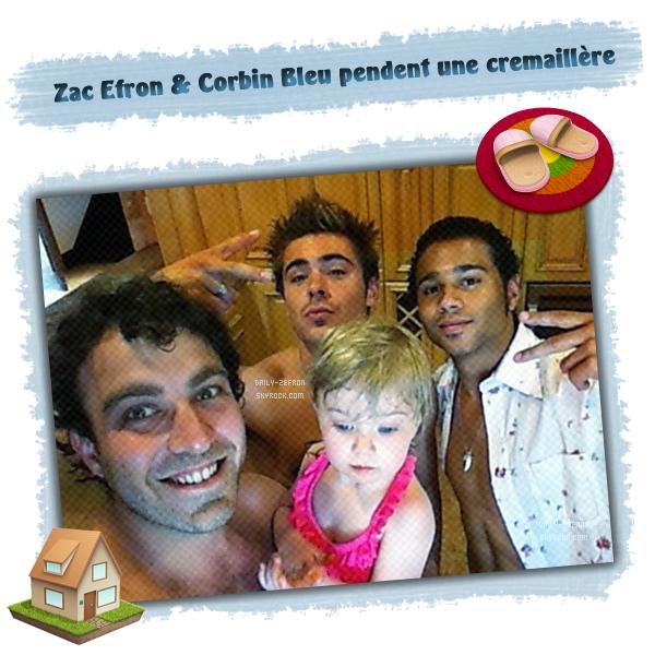 → Zac EFRON // Twitter - . • ˙ • . • ˙ • . • ˙ • . • ˙ • . • ˙ • . • ˙ • . • ˙ • . • ˙ • . •˙ • .  DAILY-ZEFRON ★.•°•.•Zac Efron & Corbin Bleu•.•°•.★  « pendaison de cremaillère de Corbin avec des potes » - . • ˙ • . • ˙ • . • ˙ • . • ˙ • . • ˙ • . • ˙ • . • ˙ • . • ˙ • . •˙ • .  - « 03.05.2011 »