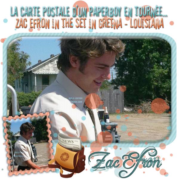 → Zac EFRON // Candids - . • ˙ • . • ˙ • . • ˙ • . • ˙ • . • ˙ • . • ˙ • . • ˙ • . • ˙ • . •˙ • .  DAILY-ZEFRON ★.•°•.•ZAC : PAPERBOY EN ACTION•.•°•.★  « Nouvelle Orléans - Louisiane - USA » - . • ˙ • . • ˙ • . • ˙ • . • ˙ • . • ˙ • . • ˙ • . • ˙ • . • ˙ • . •˙ • .  - « 12.09.2011 »