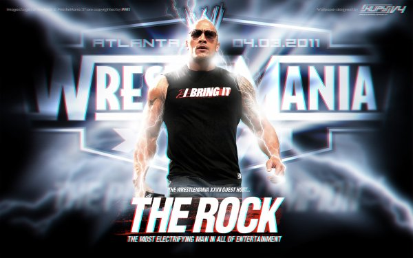 finally the rock is come back to wrestlemania 27