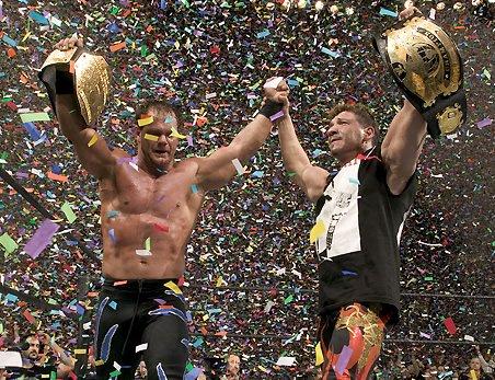 eddie guerrero et chris benoit  les deux amis champion