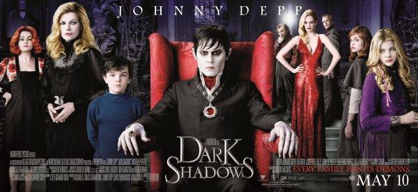 Dark Shadows : les 70s à la sauce burtonienne