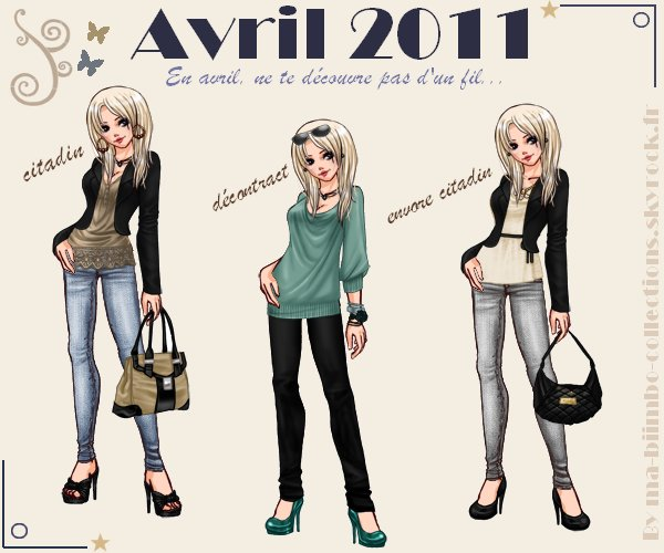 Collection Avril 2011