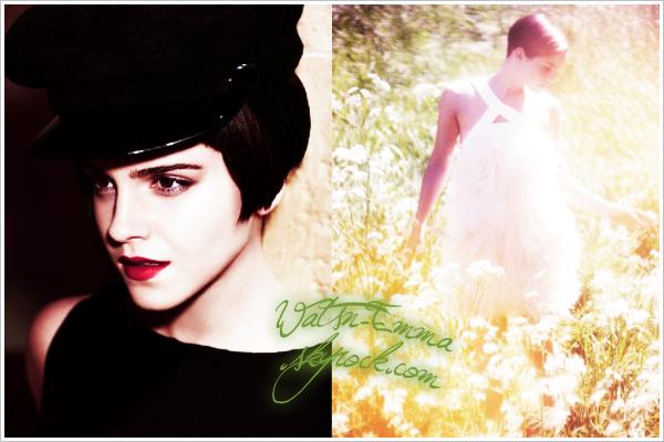 2 nouvelles photo d'Emma pour Harper's Bazaar ainsi qu'une vidéo d'une photoshoot de Seventeen pour l'Ipad.