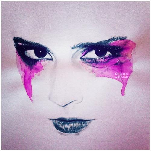 . Illustration - Michelle Crowe a réalisé cette illustration de Emma, c'est magnifique!. .