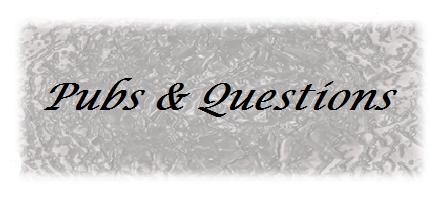 Pub & Questions