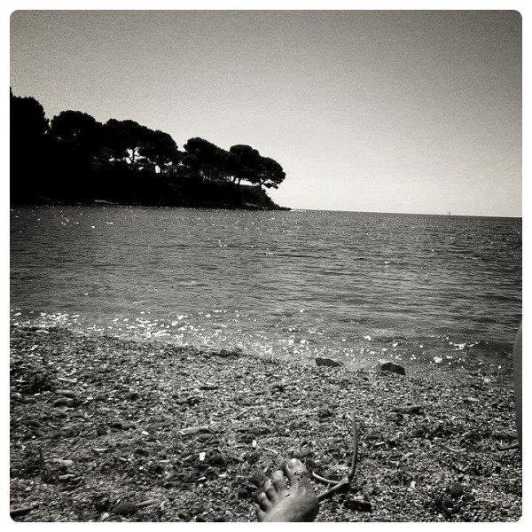 Après une semaine en Espagne les pieds dans l'eau :)