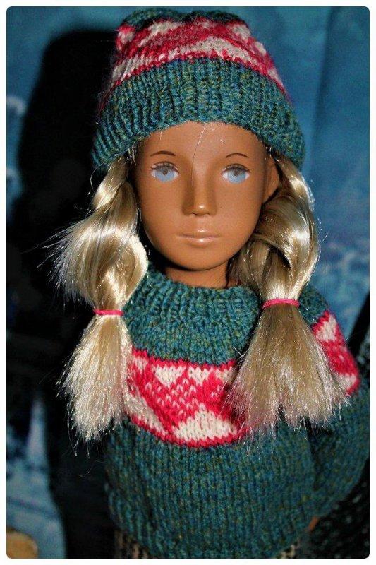 Portrait de ma blondinette